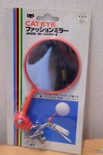 CAT EYE Vintage Classic Bicycle Mirror Handle Bar NOS Red