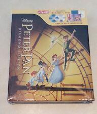 Disney Peter Pan Blu-Ray & DVD - Target Exclusive with 32 Page Storybook OOP