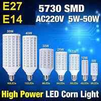 5W 7W 12W 15W 25W 30W 40W 50W LED LAMPADA LAMPADINA FARETTO 220V E27 E14