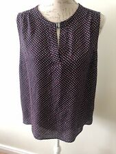 Ladies Tu Sleeveless Summer Top Size 12