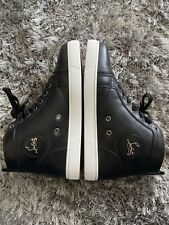 Christian Louboutin Womens Louis Sneakers(black)Euro40/Us10