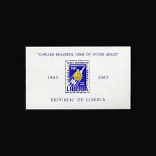 Liberia, Sc #C152, MNH, 1963, S/S, Peaceful uses of outer space, 3RDD