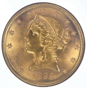 1899-S $5 Liberty Half Eagle Choice BU++ JO/1620
