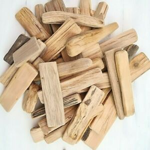 APPROX 40 PIECES 400 GSM DRIFTWOOD WOOD NAUTICAL PIECES FOR CRAFT HOME DECOR