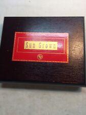 ROCKY PATEL SUN GROWN TORPEDO   WOODEN CIGAR BOX