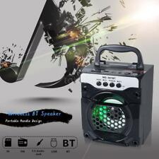 AudioBLUE-Super Bass Outdoor Bluetooth Wireless Portable Speaker Stereo LED FM