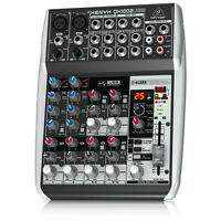 BEHRINGER XENYX QX1002USB 10-Input Studio Mixer USB Audio Interface + Warranty