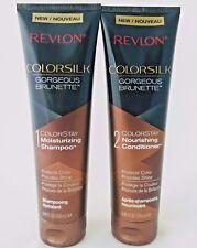 Revlon Colorsilk Colorstay Gorgeous Brunette Shampoo & Conditioner 8.45 fl oz