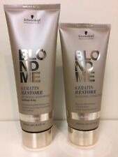 Schwarzkopf BC Blond Me Keratin Restore Bonding Shampoo / Conditioner duo