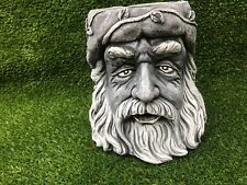 LATEX AND FIBREGLASS MOULD - GREEN  MAN PLANTER ORNAMENT MOULD