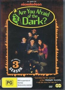 ARE YOU AFRAID OF THE DARK? Complete Season 3 NEW & SEALED 2 x DVD Set Free Post