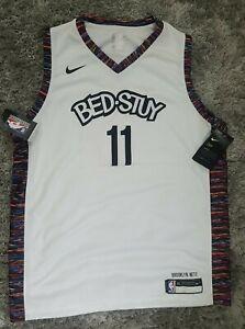 New Youth XL Brooklyn Nets Kyrie Irving 2019/20 City Swingman BED STUY Jersey