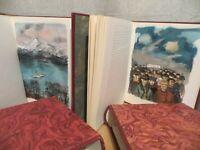 Dostoïevski les possédés illustrations de Michel Ciry édition de l'odéon