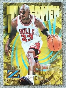 MICHAEL JORDAN 1996-97 SkyBox Z-Force ZUPERMEN Basketball Card #179 NBA HOF GOAT