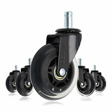 Xiixtoo Office Chair Caster Wheels Set Of 5 Heavy Duty Amp Safe Replacement R