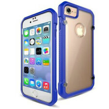 Casephile ClearCase Cover Protector for iPhone 7 - Blue