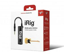Interfaz De Guitarra móvil IK Multimedia iRig para iPad iPhone e iPod Touch