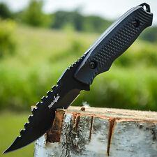 "8"" TACTICAL HUNTING Rambo Sawback FIXED BLADE KNIFE Military Survival Combat"