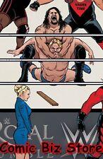 WWE #11 (2017) 1ST PRINTING UNLOCKABLE ROYAL RUMBLE VARIANT COVER BOOM