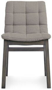 Blu Dot Wicket Chair, Dining/Side/Accent Chair NEW IN BOX Smoke/Flax