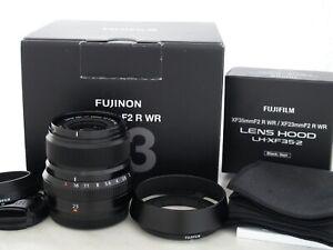 Fujifilm Fujinon XF 23mm 2.0 R WR Super EBC Objektiv Gewährleistung 1 Jahr