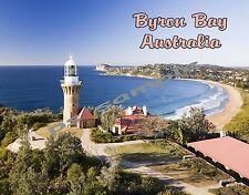 Australia - BYRON BAY - Travel Souvenir Fridge Magnet