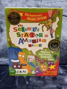 The Scrambled States of America Game Children's Board Game Ages 8+ NEW Sealed
