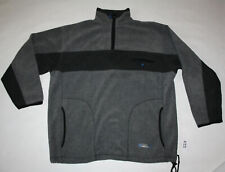 TCM Tchibo Sport Tech Fleece Pulli Pullover grau langarm Reißverschluss Gr. L