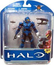 Halo 10th Anniversary Series 1 Advance Spartan Recon Action Figure [Blue]