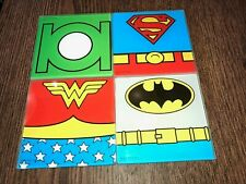 New listing Justice League Coaster Set of 4 - New-Batman Wonder Woman Superman Green Lantern