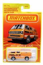 2021 Matchbox Retro Series #2 Volkswagen Transporter Crew Cab no tools on bed