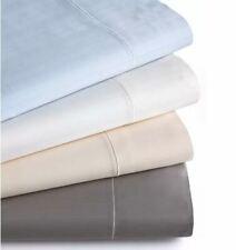 Hotel Collection 700Tc Microcotton Queen Tonal Stripe Flat Sheet, Grey - Nwot