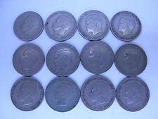 Greece Grece   12 coins   Used  2  drachma 1967   ,King  Konstantinos, lot  2123