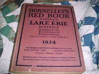 Scarce 1924 Donnelly's Red Book Lake Erie District - Manufacturers-Distributors