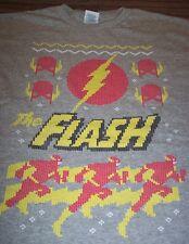 DC COMICS THE FLASH Justice League CHRISTMAS T-Shirt 3XL XXL NEW