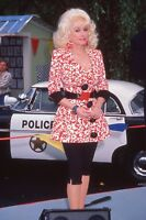 35mm Color Slide Film Celebrity Movie Star Photograph of Dolly Parton~972