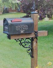 Wrought Iron Gecko Mailbox Dress Up Kit, Mailbox Ornamental Iron Lizard Hardware