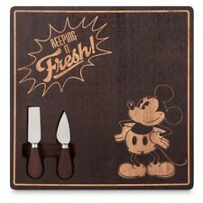 "Disney Store Mickey Mouse  ""Keeping It Fresh"" Cheese Board new"
