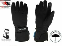 Touch Screen Warm Winter Motorbike Motorcycle Gloves Waterproof Leather Gloves
