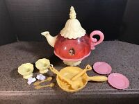 Disney Princess Belle Stack And Store Tea Pot - Beauty and the Beast Toy Tea Set
