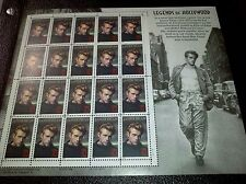 US Mint Never Hinged Postage Stamps Scott #3082 James Dean 32c Sheet of 20