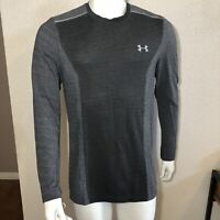 Under Armour Running Shirt Threadborne Seamless Long Sleeve Gray Size Medium