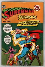 Australian SUPERMAN SUPACOMIC 160 DC Comics 68 pgs 1950's New Zealand Batgirl