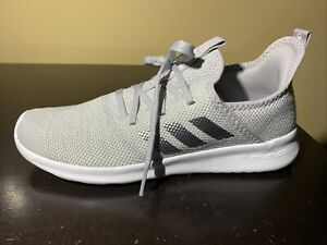 Adidas Cloudfoam Pure Gray Sneakers ee8078 Women Size 8.5