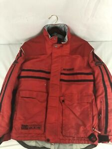 Arctiva Mens Snowmobile Jacket Size Small Red