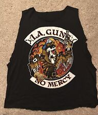 RARE LA Guns t shirt No Mercy Tour Summer 1988 VINTAGE Guns n Roses Sunset Strip