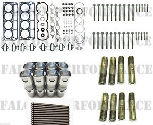 Chevy/GMC 5.3/5.3L Head Gaskets Set+Bolts+AFM DOD Lifters CAM 2005-11 +push rods