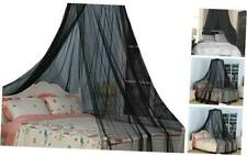 South To East King Size Bed Canopy, Black Color Mosquito Net for Indoor/Outdoor,