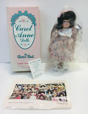 1992 Carol Anne Doll by Bette Ball October Birthstone Coa Limited Edition #67