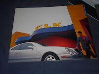 1998  Mercedes Benz CLK Class USA Market Catalog Brochure Prospekt